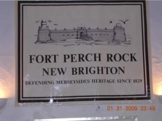 drawing of fort perch rock