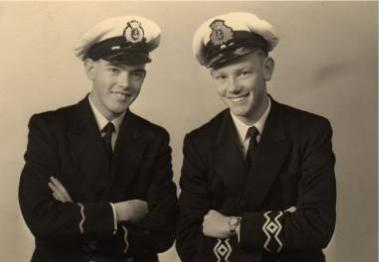 radio officers in uniform